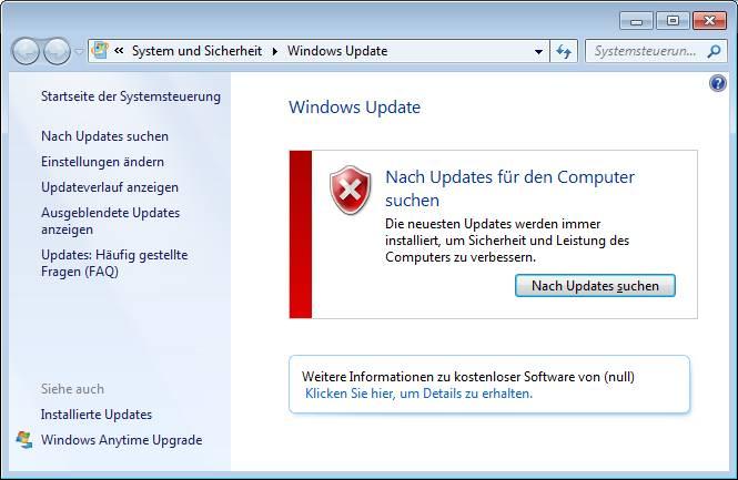 Windows Update Fehler 0x80072f8f Nach Updates suchen