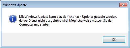 Windows Update Fehler 0x80072f8f kenn derzeit nicht nach Updates gesucht werden